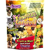 F.M.Brown's Tropical Carnival Fruit & Nut Small Animal Treat ,8 oz