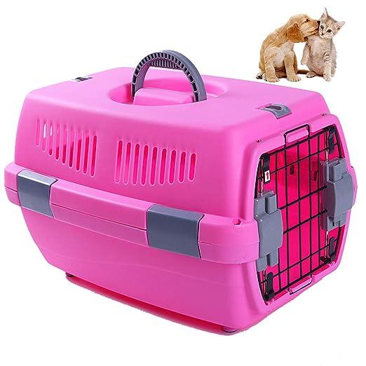 UTOPIAY Transportín de Color Sólido para Perros Y Gatos Material ...