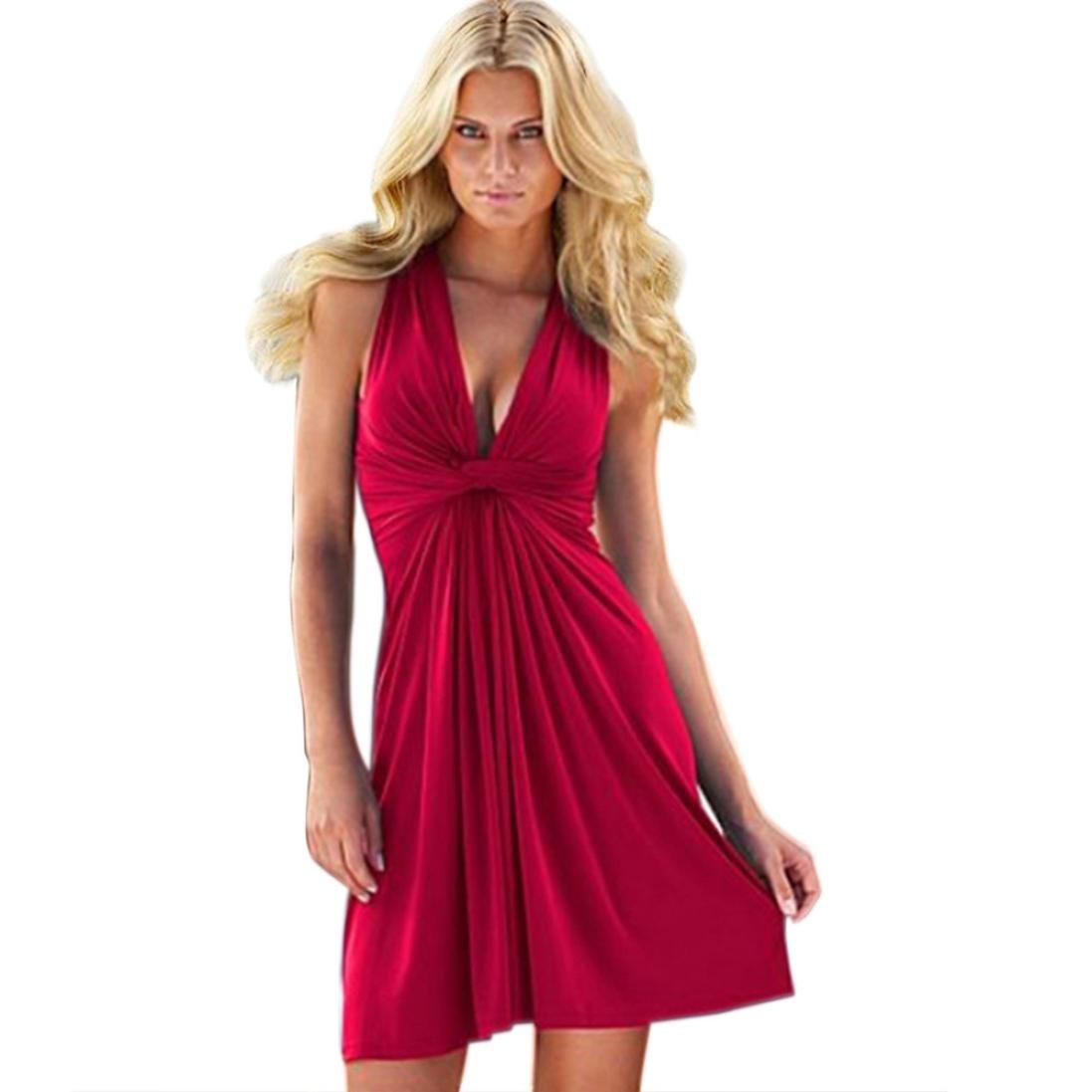 FAMILIZO -Vestidos Midi Vestido Corto, Rectos Mujer Verano Vestidos Sin Tirantes Vestidos Rectos Mujer Fiesta Cortos Vestidos Encorsetado Vestidos Sin ...