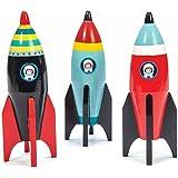 Le Toy Van Wooden Space Rocket TV803
