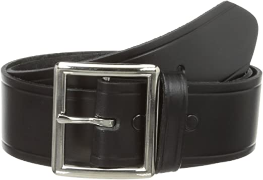 New Garrison Belt 1.25 Black Genuine Cowhide Leather Garrison Belt