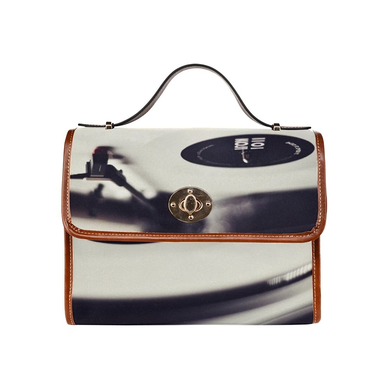 Fashion style custom unique pattern design of Waterproof Canvas Shoulder Handbag.