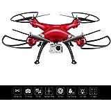 Costzon Syma X8HG 2.4Ghz 4CH 6-Axis WIFI Gyro RC Quadcopter Drone HD Camera RTF