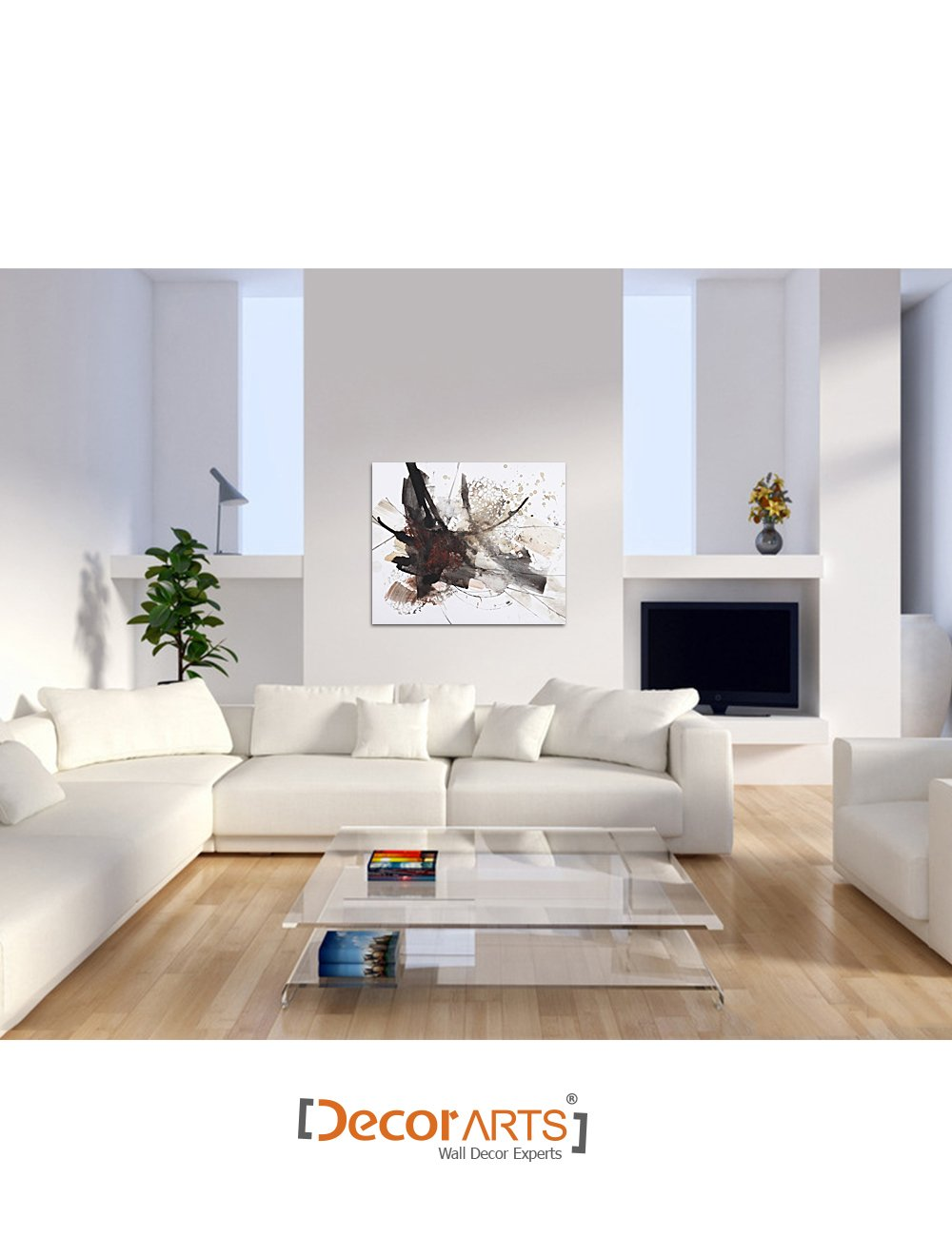 DecorArts Abstract painting Giclee abstract Image 2