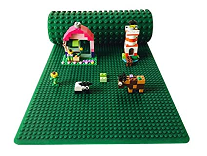 NEW Bricks Lego Play Mat 2 Sided Toys Duplo For Kids Toddlers Mats Safe Rollable