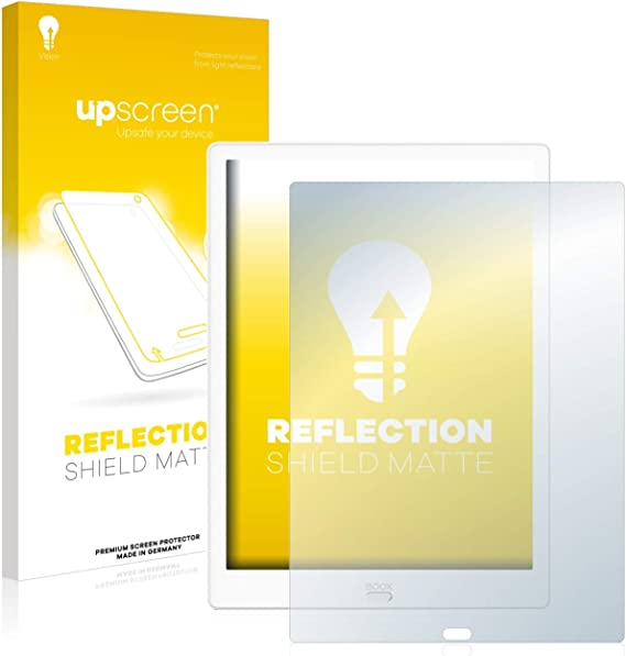 upscreen Reflection Shield Matte Screen Protector for Symbol MC3000 Matte and Anti-Glare Strong Scratch Protection Multitouch Optimized