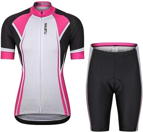 Womens Cycling Jersey Manga Corta Cycle Racing Camisa ...