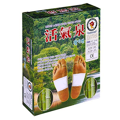 (HWALGICHEN - Foot Care Pads, Foot Patch, Relax and Calm The Body, Relieve Stress (1Box)