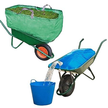 H2go 80L Transportation Water Carrier Bag Wheelbarrow Use For Gardens /& Farms