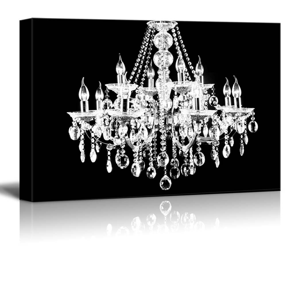 painting i james remarkable art grand canvas wiens icanvas with of piece chandelier black by