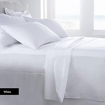 Lussona Collection 1200 Count 100% Egyptian Cotton Bed Sheets   4 Piece Bed  Sheet Set