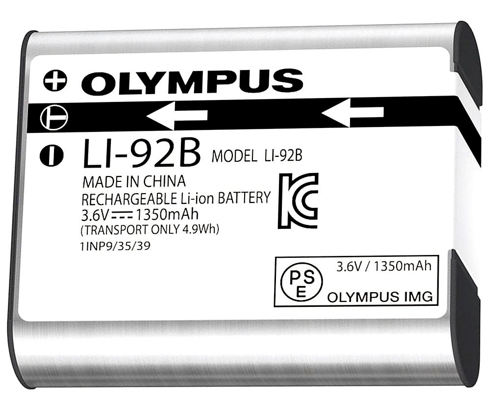 Olympus Li-92 Rechargeable Battery (Silver)