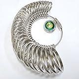 【ノーブランド品】リングゲージ 1号~30号対応 指輪ゲージ Ring gauge