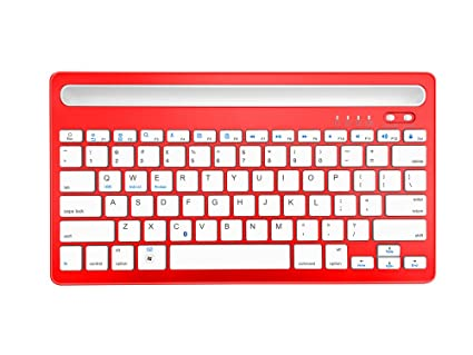 Amazon com: Dual Channel Keyboard Bluetooth Wireless