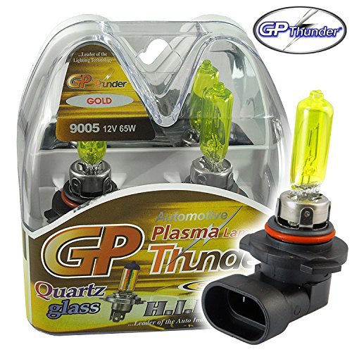yellow 9005 headlight bulbs - 9