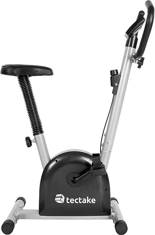 TecTake – Bicicleta estática/elíptica, fitness y cardio, con ...