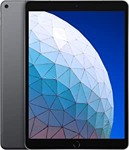 Apple iPad Air (10.5-Inch, Wi-Fi + Cellular, 256GB) - Space Gray (3rd Generation) (2019) (Renewed)