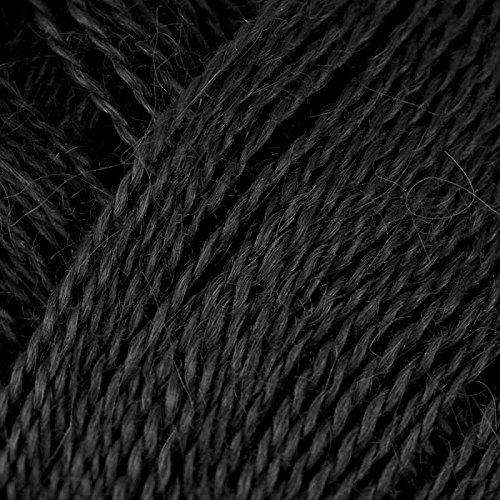Rowan Fine Lace Yarn (934 - Noir) (Merino Suri Yarn)