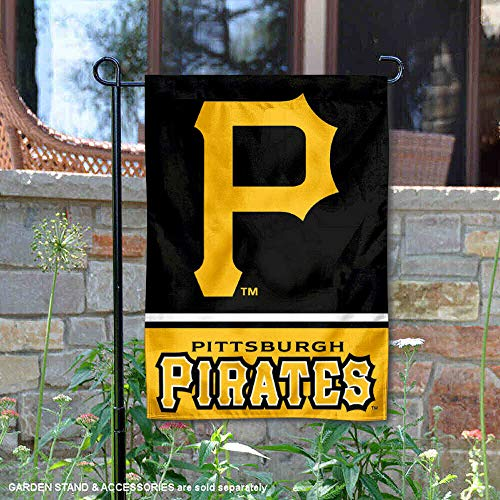 WinCraft Pittsburgh Pirates Double Sided Garden Flag for $<!--$15.95-->