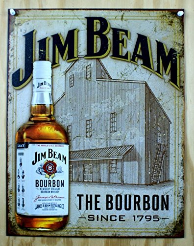 Jim Beam - Still House Tin Sign 13 x 16in
