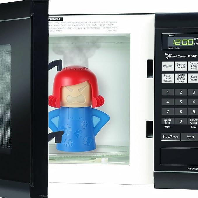 Amazon.com: Home-X Steamn Mama - Limpiador de microondas ...