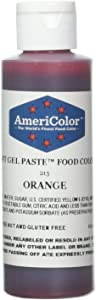 Americolor Soft Gel Paste Food Color, 4.5-Ounce, Orange