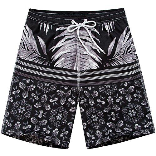 Men%27s+Quick+Dry+Boardshorts+Bathing+Suits+Swimming+Trunks+Tropical+Island+Beach+Shorts%2C+XXL%2832-33%29%2C+New+Zealand