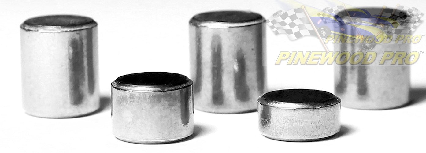 """Pinewood Derby Tungsten Weights By Pinewood Pro 