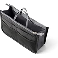 Organizador Bolsos Viajes Organizador Insertar Organizador Cosmticos Bolso de Mano Bolso Mujer 1 Paquetes (Negro)