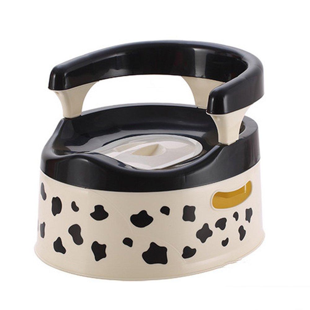 Orinal infantil para niños, asiento de inodoro, diseño de vaca