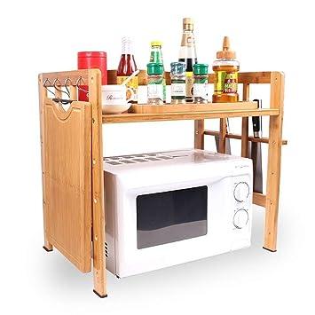 kicthnslf Cocina Estante Organizadores y Almacenamiento Inicio Armario Organizadores Estantes Especia Cocina Estante Cuarto de baño