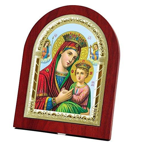 Virgin Mary Jesus Icon - 8