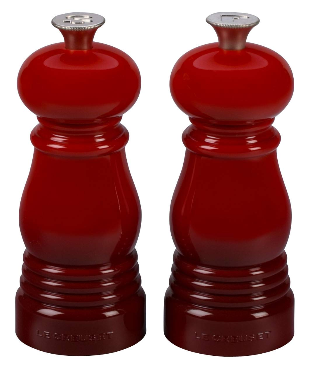 Black Le Creuset of America Petite Salt and Pepper Mill Set 5 x 2