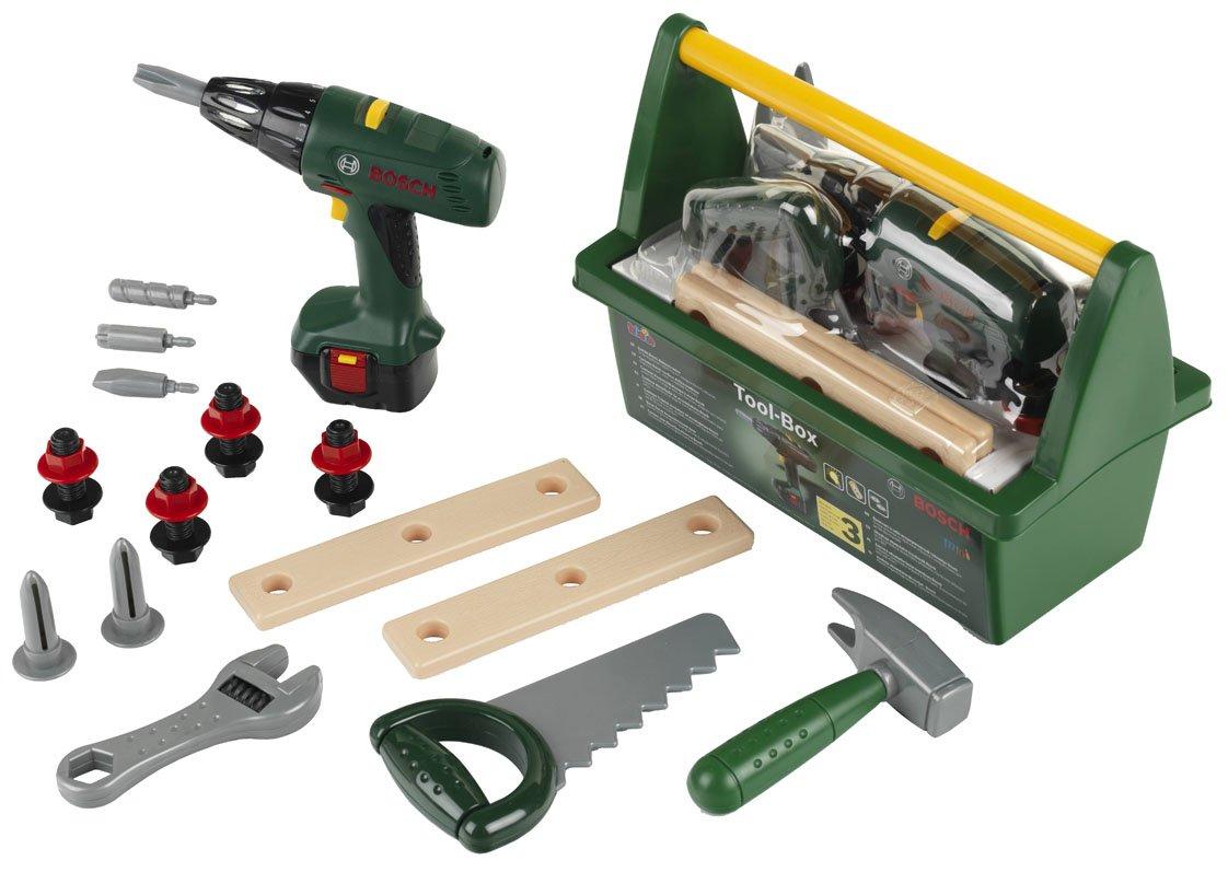 Werkzeugkasten Kinderspielzeug - Spielzeug Werkzeugkasten - Bosch Tool Box