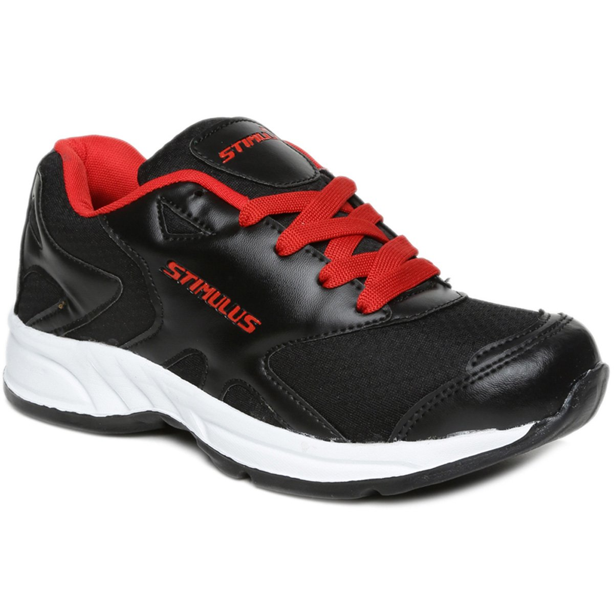 fda197f84 PARAGON Stimulus Men's Black & Red Sports Shoes: Buy Online at Low Prices  in India - Amazon.in