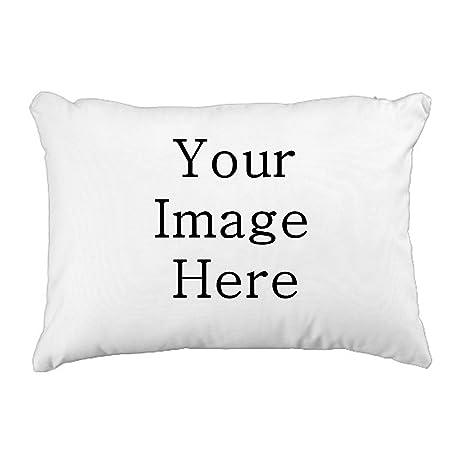 Design Your Own Pillowcase Cool Amazon 60% Cotton Pillowcase Custom Personalized White Pillow