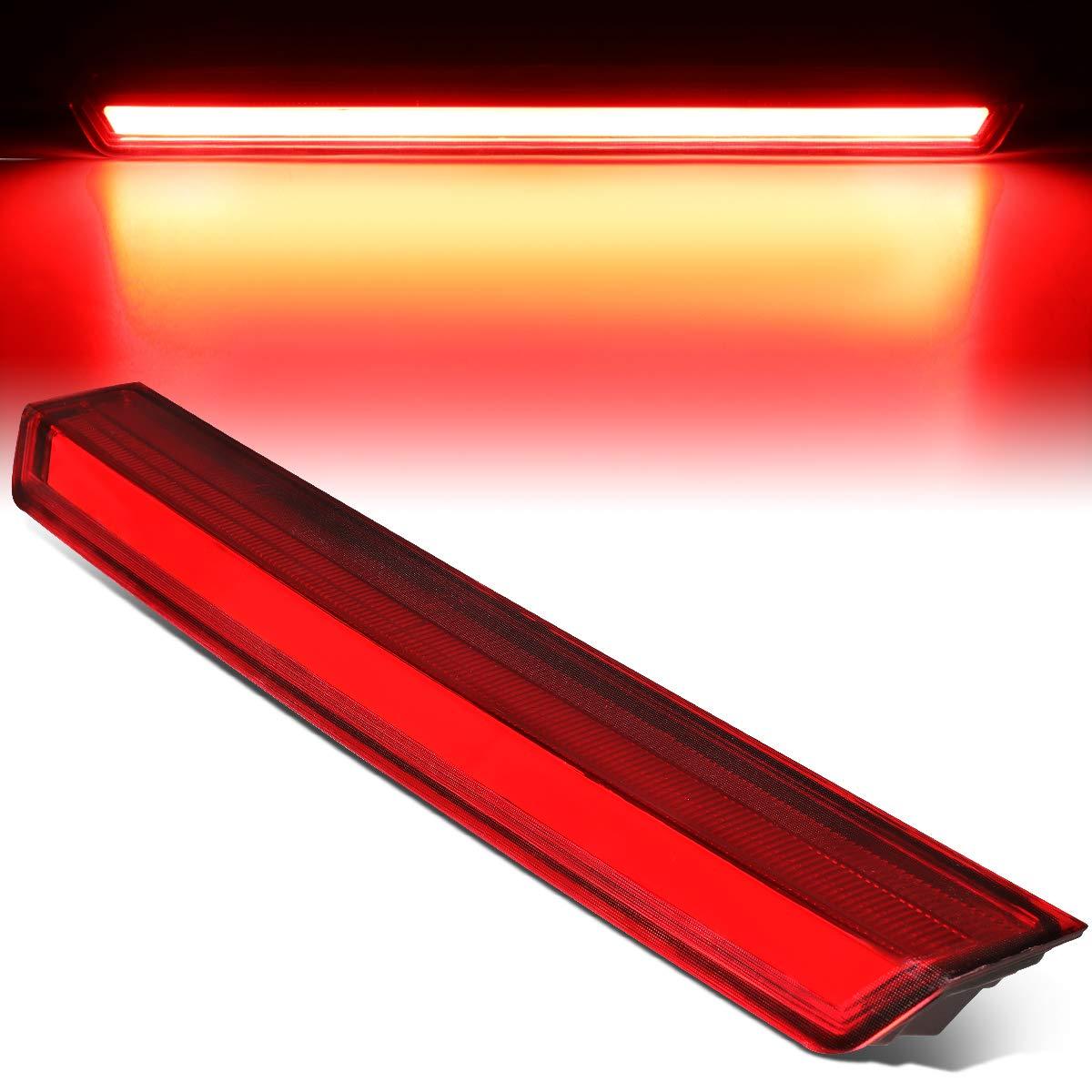 Rear Center 3D LED Bar Third 3rd Tail Brake Light Lamp for Chevy Suburban Tahoe 15-20 Red