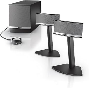 Bose Companion 8 Multimedia Speaker System – Graphite/Silver