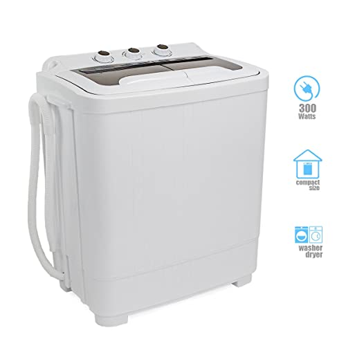 Portable Washer with Spin Cycle Dryer