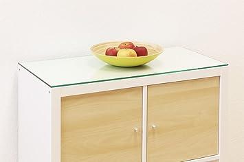 auflageplatte / glasplatte / regalplatte für ikea kallax regal (76 ... - Glasplatte Küche Ikea