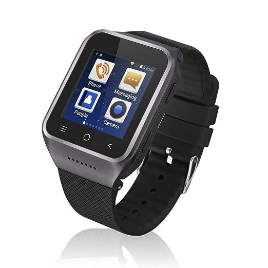 Amazon.com: WiFi GPS 3G Smallest Smartwatch Phone Ultra Thin ...