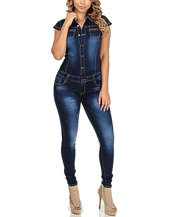 Nuevo Caliente Vaqueros de Mujeres Slim Rompers Bodysuit ...