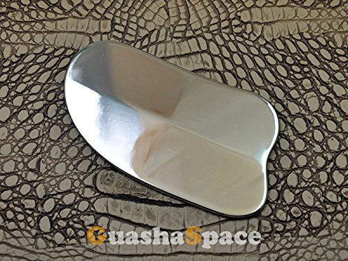 Top Quality Scraping Gua Sha Guasha Pure Titanium Material Chiropractic Holistic Soft Tissue Sports Therapy Physical Therapy Natural Therapy Tool Scraping Tool Item Number TT001 -