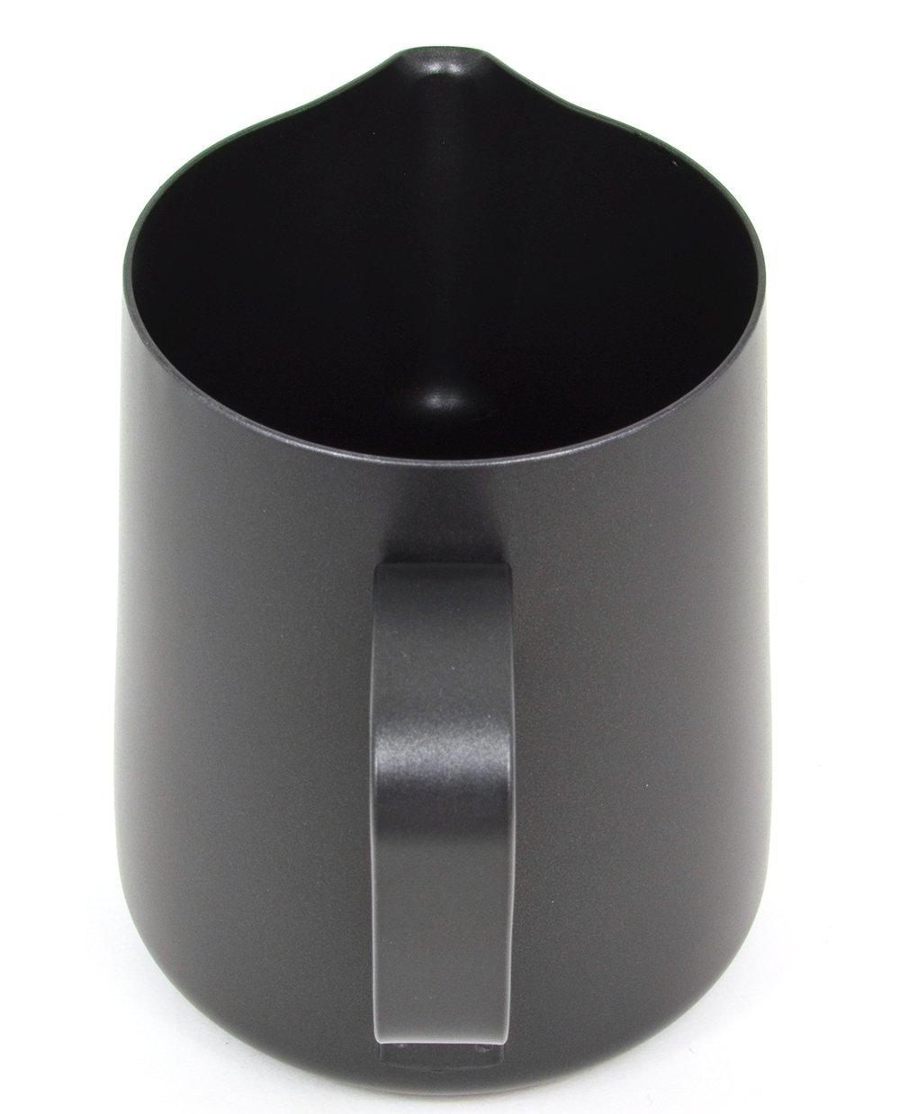 Stainless Steel 12 oz Blue RHBLUE12OZ BrewGlobal Rhinoware Stealth Milk Pitcher