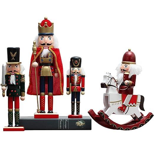 WP Adornos de Madera de la Guardia del Rey Británico Creativo ...