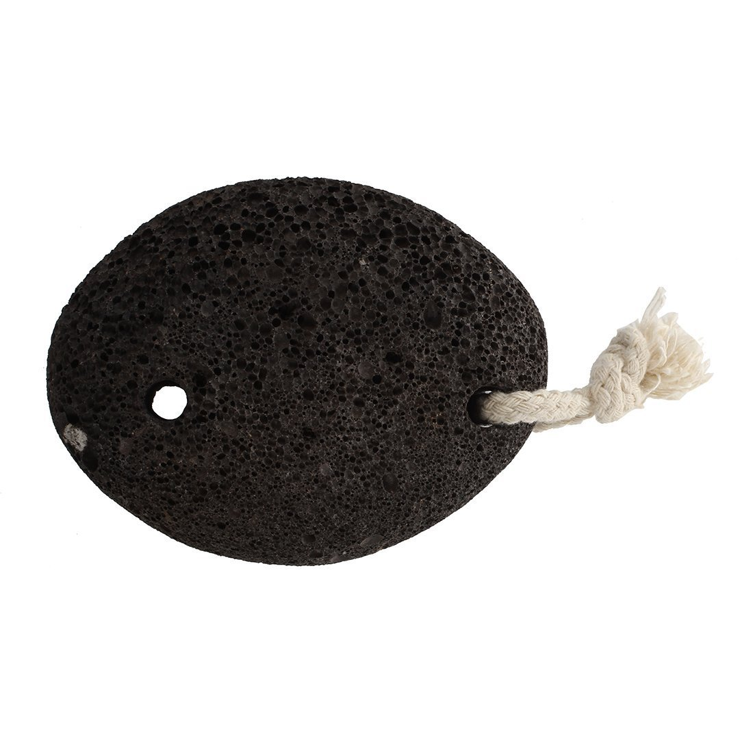 Pumice Stone - SODIAL(R)Natural Paddle Cushion Massage Brush Earth Lava Pumice Stone Remove Dead Skin Foot Massage SPA