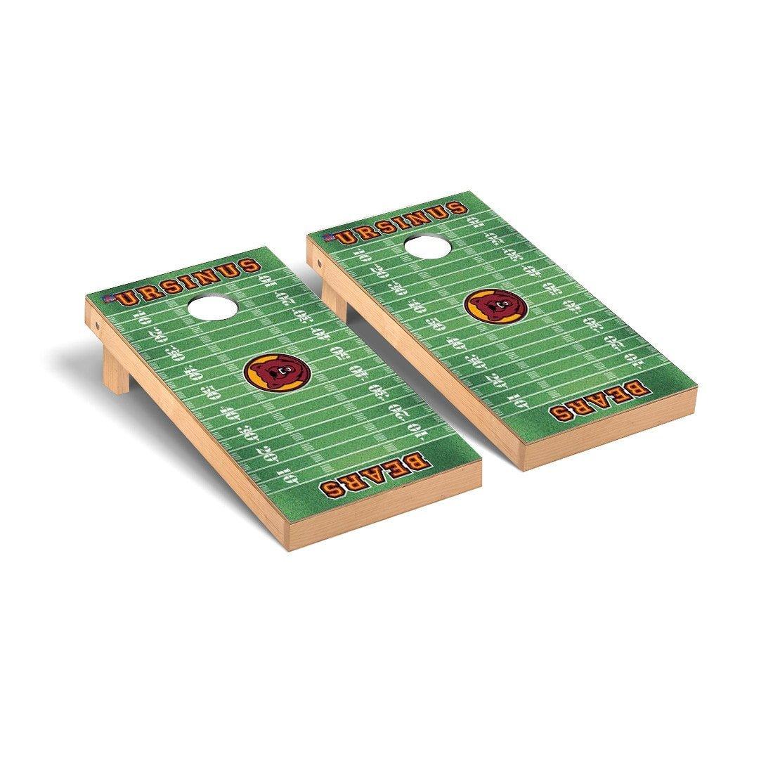 Ursinus College Bears Cornholeゲームセットフットボールフィールドバージョン B011665HLS