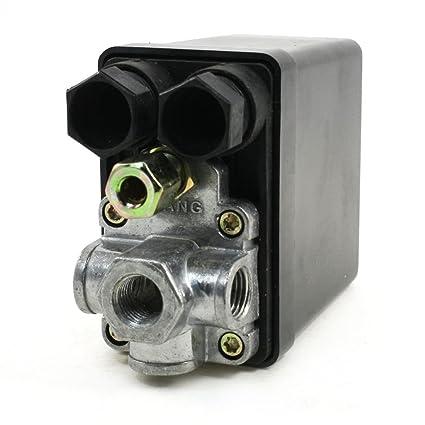 Sourcingmap A13110600Ux0500 Interruptor del Compresor de Aire