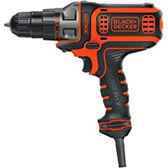 Product Image: BLACK+DECKER Electric Drill, 3/8-Inch, 4-Amp (BDEDMT)
