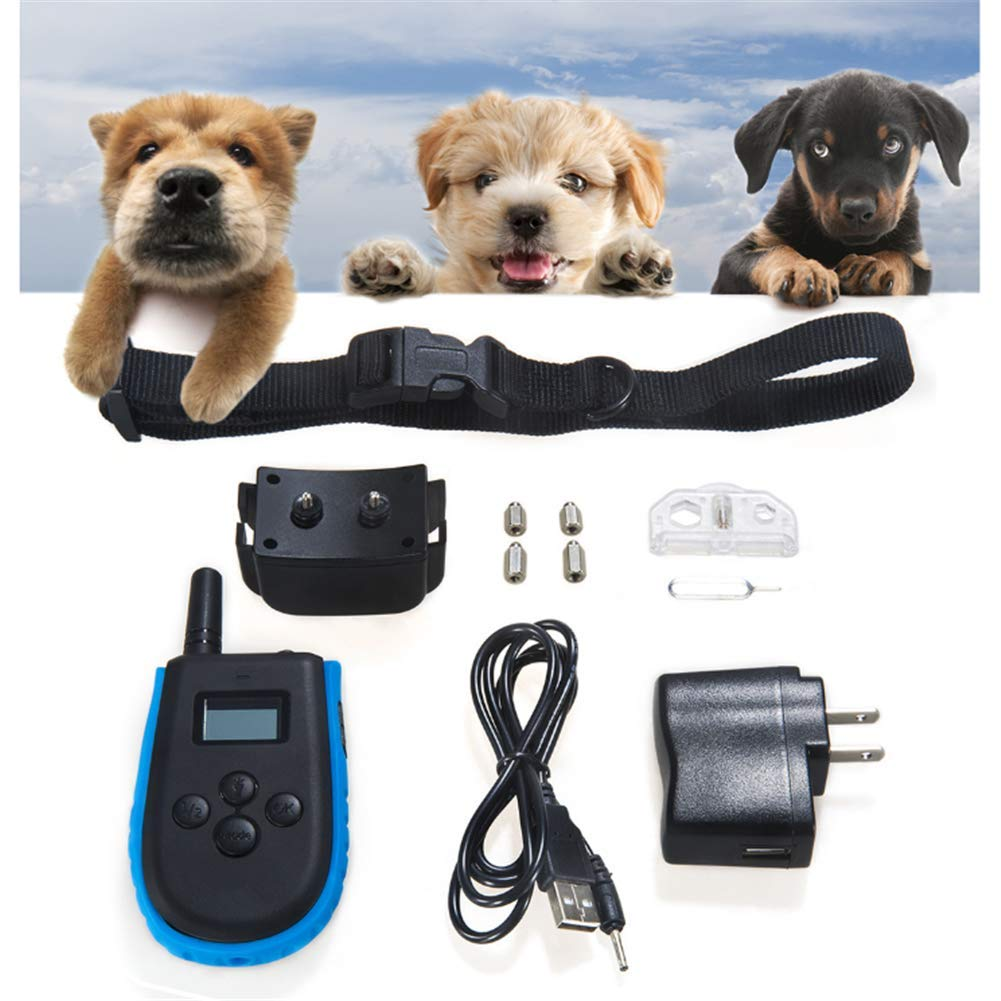 Electronic Dog Collar Remote Control Shock Pet Training Collar with LCD Display